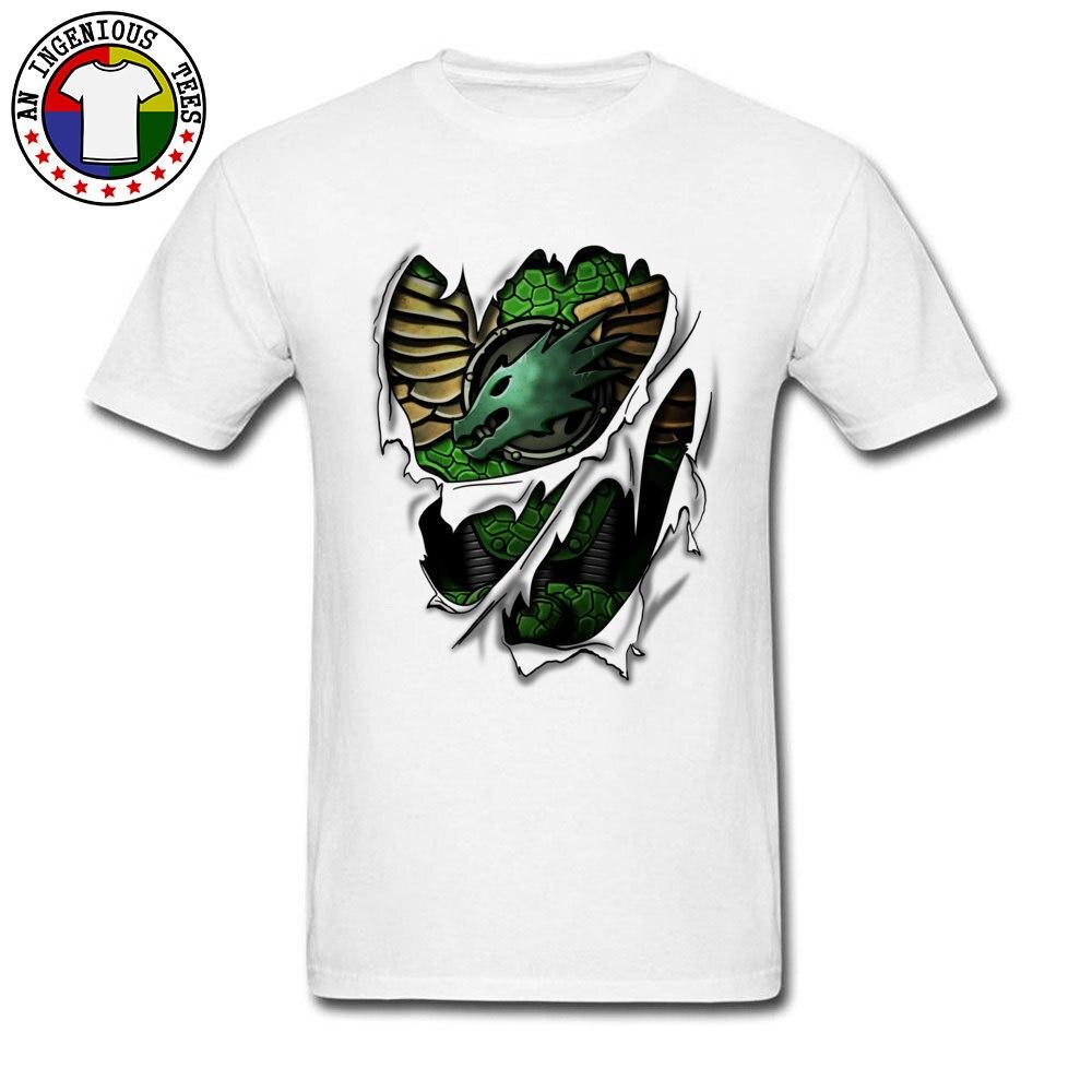 Cores brancas gola redonda casual camiseta gráfica salamandras armadura impressa em tshirt popular legal t-shirts tamanho grande 3xl
