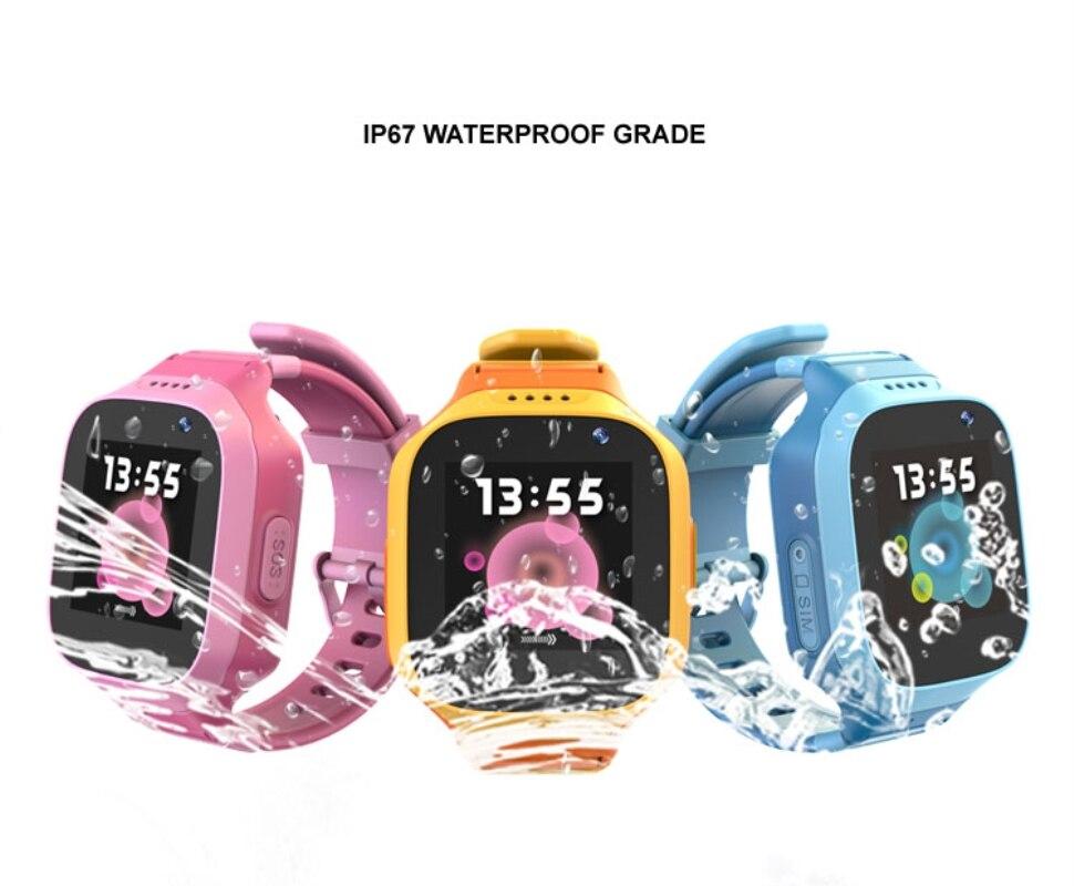 Reloj rastreador para niños 3G GPS WIFI ubicación impermeable IP67 Sensor de Antipérdida llamada vibración SOS Cámara estudiante teléfono reloj TD11
