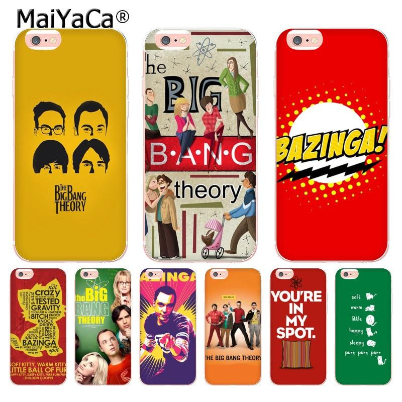 MaiYaCa Bazinga la teoría del Big Bang tv mostrar Coque funda para teléfono para iphone 11 Pro 8 7 6 6S Plus X 5 5S SE XS XR XSMAX