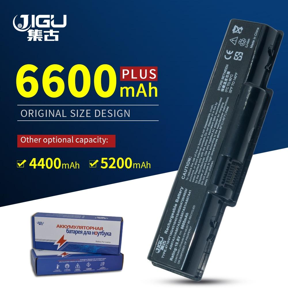 JIGU AS07A51 AS07A41 de batería para Acer Aspire 4720 AS07A75 5735Z 4310...