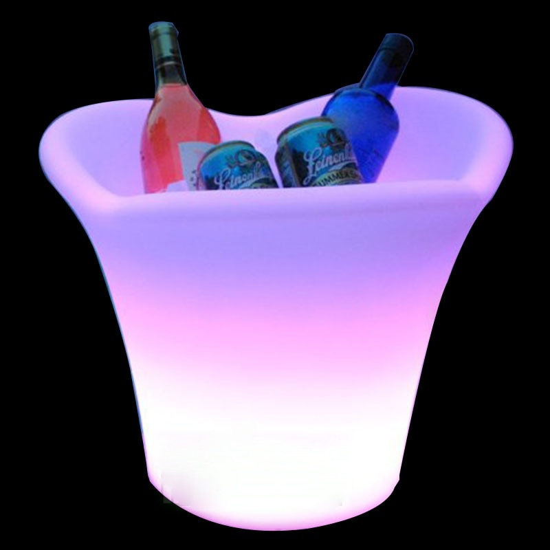 USB rechargeable LED night light ice chair lamp RGB Floating IP68 outdoor waterproof decor lights with remote control for bar