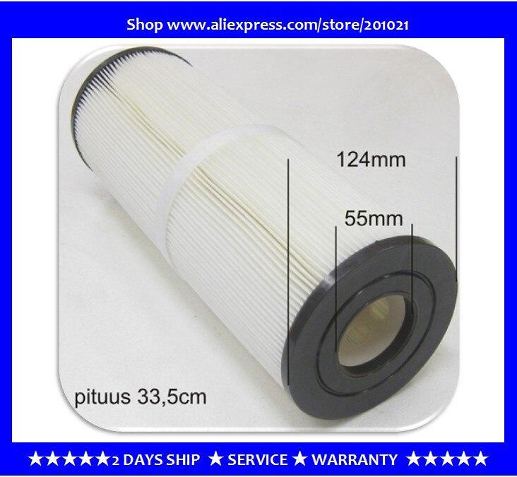 الإستحمام تصفية Unicel C-4950 Pleatco PRB501N Filbur PRB50-IN FC-2390 Darlly 40506 طول: 33.8 سنتيمتر القطر: 12.5 سنتيمتر
