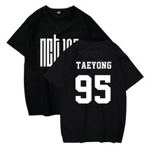 Летняя футболка WEJNXIN Kpop NCT U 127, хлопковая Повседневная футболка для мужчин и женщин с принтом