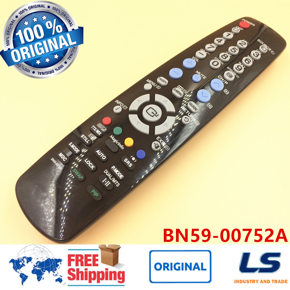 CONTROL remoto ORIGINAL TM-96B BN59-00752A para SAMSUNG TV LCD PH63KLFLBF/ZA SMT9566... 320MXN2... P50... P63... 320MP2/ZA 320MX 320M