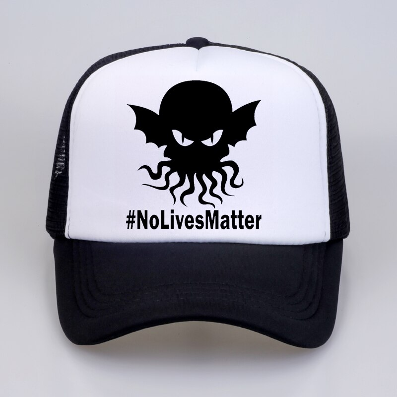 No Lives Matter Hat High Quality Baseball Cap For Men Women Hip Hop mesh Snapback Defeated In Battle