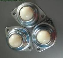 Billes en Nylon universelles   Roues à billes universelles 25.4mm 4 pièces/lot boule oculaire robot vache roulette longue-70mm