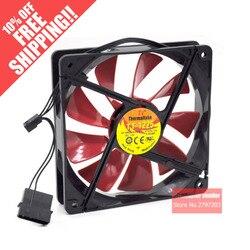 Новинка для EVERFLOW Thermaltake TT-1225 12 см тишина 12025 A1225L12S вентилятор охлаждения 12В 0.3A