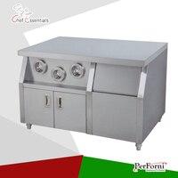 PKJG-WS01 Fast Food Equipment for Commercial Center Island