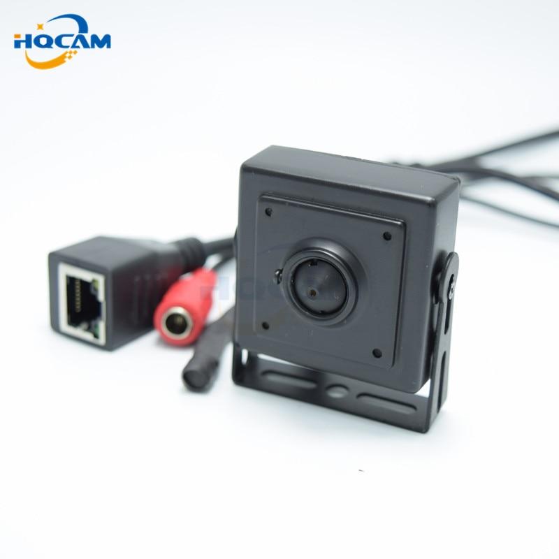 HQCAM 2.1mm Wide Angle lens 720P mini ip camera Wide Angle140 degrees ONVIF H.264 P2P Mobile Phone Surveillance CCTV IP Camera