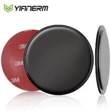 Yianerm Saugnapf Halter Basis Disk Für Auto Dashboard Windschutzscheibe PU Silikon Klebstoff Gule Pad Sauger Telefon Halter Zubehör