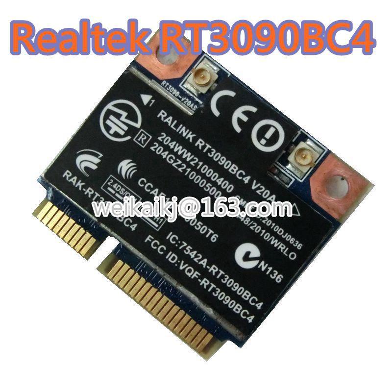 Original tarjeta inalámbrica wi-fi + 3,0 Bluetooth Ralink RT3090BC4 300Mbps 802.11b/g/n Mini PCI-E de la tarjeta de 602992-001