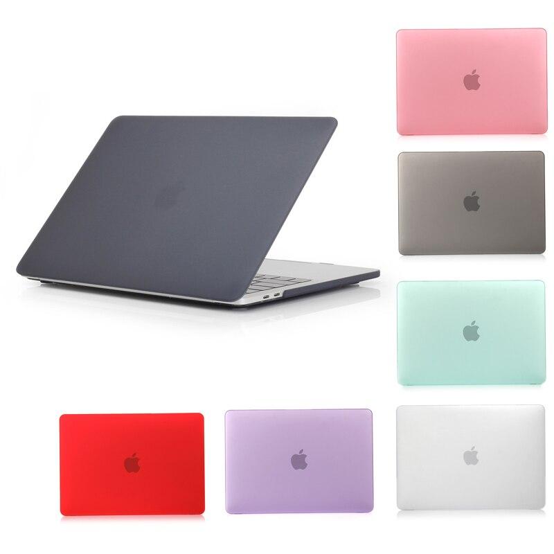 Nueva funda de portátil para Apple MacBook Air Pro Retina 11 12 13 15 funda para mac book de 13,3 pulgadas con carcasa de manga de barra táctil