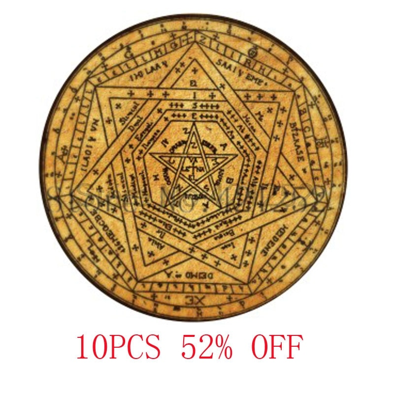 Sigillum Dei Aemeth или Sigil из амета кулон ожерелье брелок Закладка Запонки Серьги