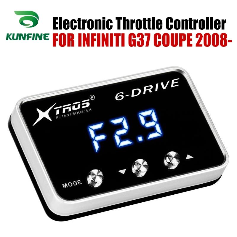 Controlador electrónico de acelerador de coche Racing acelerador potente Booster para INFINITI G37 COUPE 2008-2019 accesorio de piezas de sintonización