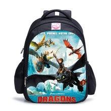 Children School Bag Cartoon How To Train Your Dragon School Backpacks For Teenager Boys Large Mochila Fashion Student Schoolbag