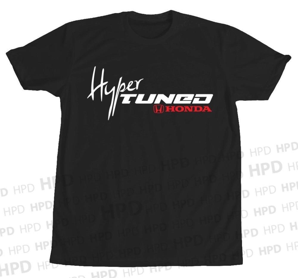 Hyper Tuned Hon camiseta S2000 Civic Tipo R Accord JDM NSX algodón T HPD nuevo C 2019 más nuevo MenS Funny Streetwear camisetas