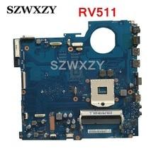Para Samsung RV511 placa base de computadora portátil BA41-01432A BA92-07699A BA92-07699B HM55 probada completa
