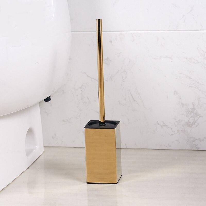 الإبداعية المرحاض فرشاة مجموعة حامل الفولاذ المقاوم للصدأ الأوروبية الذهب المرحاض فرشاة الحمام اكسسوارات دائم المرحاض فرشاة Boal