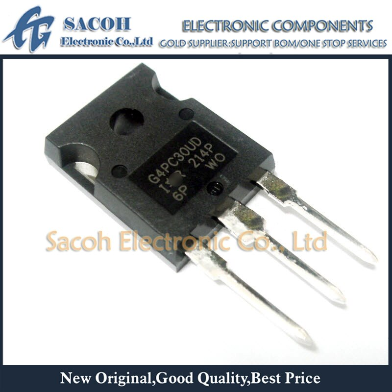 Envío gratis 10 Uds IRG4PC30UD G4PC30UD IRGPC30UD2 IRG4PC30U G4PC30U-247 12A 600V de potencia IGBT