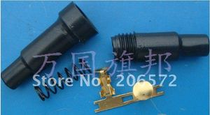(Suitable for 5*20mm) fuse holder (Shell + ears + spring)/set