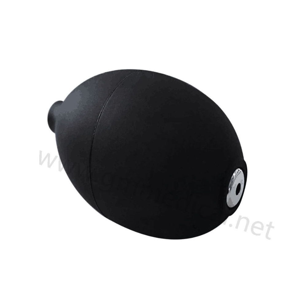 2piece/bag Manual Inflation Blood Pressure Pvc rubber Bulb With Air Release Valve ,for Medical Instrument Accessories Black.