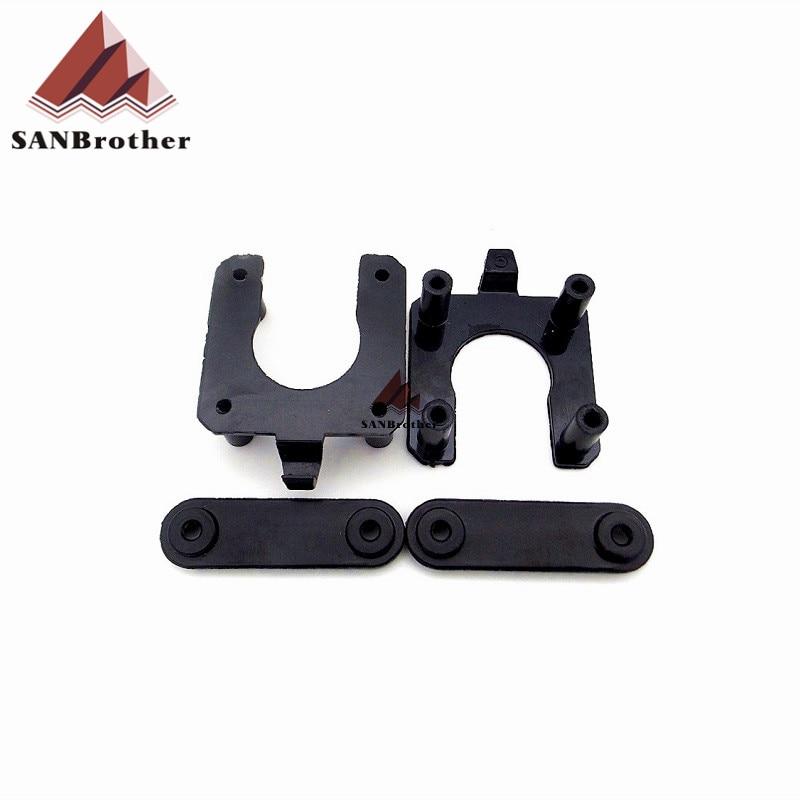 1/набор аксессуаров для 3D-принтера DIY UM2 Ultimaker2 прокладка для двигателя + крышка Z-shaft нижний комплект литья под давлением, Ultimaker 2 части
