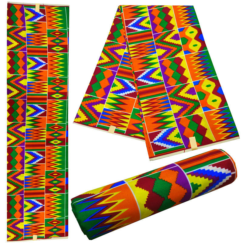 6 Yards Nigerian Ankara Fabrics Latest Wax Prints African Fabric For Women And Men