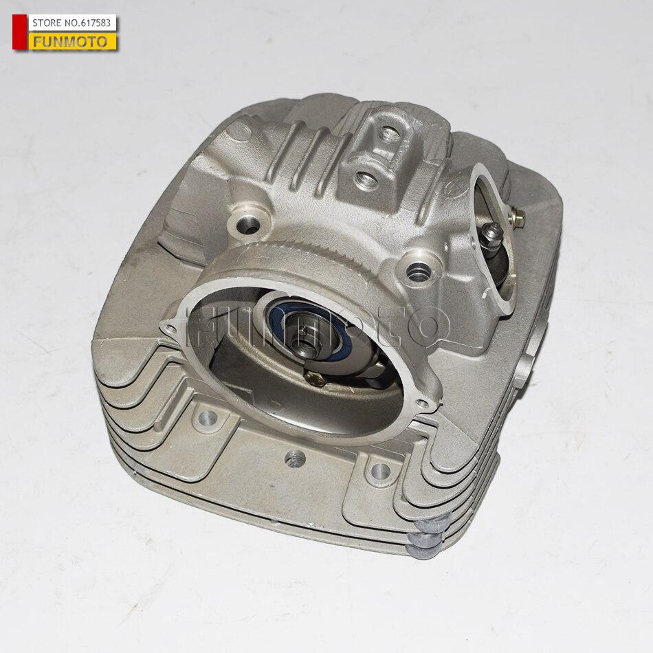 Cylinder head assy/gaskets/Carburetor intake manifold suit for  bakus 400 buggy /JIANSHE 400 ATV /Mountain lion 400 atv