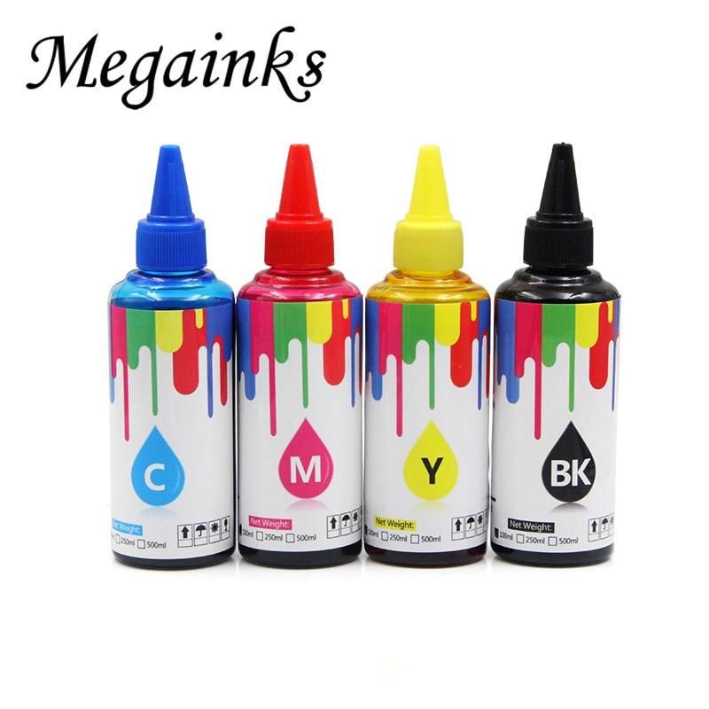 Tinta de tinte de 100ML para Epson PX 503A PX 203A PX 673F PX 1700 1600 1200 673F, tinta de impresora