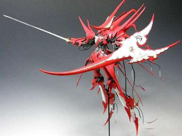 GK Garage Resin Robot Figure 1/100 The Five Star Stories Machine Messiah Yen-xing Model Kit