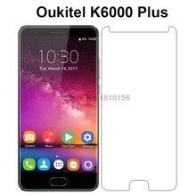 2 Pcs 9 H Premium Voor Oukitel K6000Plus Gehard Glas Voor Oukitel K6000 K 6000 Plus Telefoon Screen Protector Beschermende film Cover