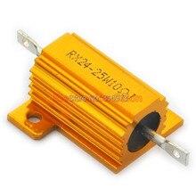 (20 pcs/lot) 10 OHM 25W Wirewound Aluminum Housed Resistor, 25 Watts.