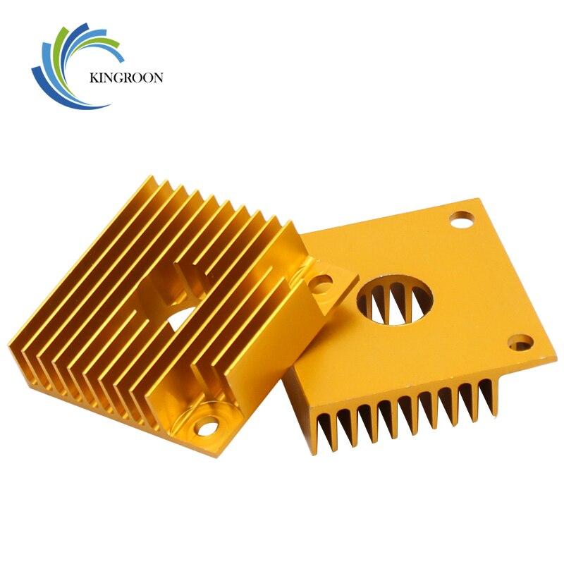 1 unidad de disipador térmico KINGROON MK7 MK8, piezas de impresora 3D, disipador térmico de radiador de aluminio enfriador 40x40x11mm para Makerbot MK7/MK8, extrusora 1
