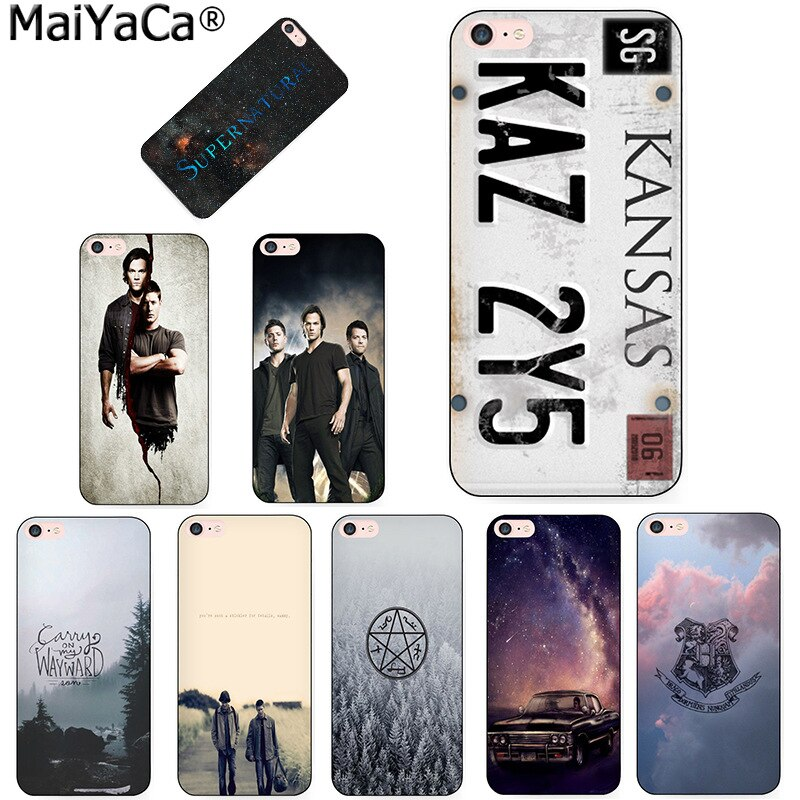 MaiYaCa televisión sobrenatural placa KANSAS KAZ 2Y5 colorido teléfono caso para iPhone 8 7 6 6S Plus X 5 5S SE 11pro max caso