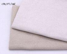 CMCYILING tissu lin coton pour Patchwork   Tente à coudre brodée, tissu de transfert thermique, Textile domestique