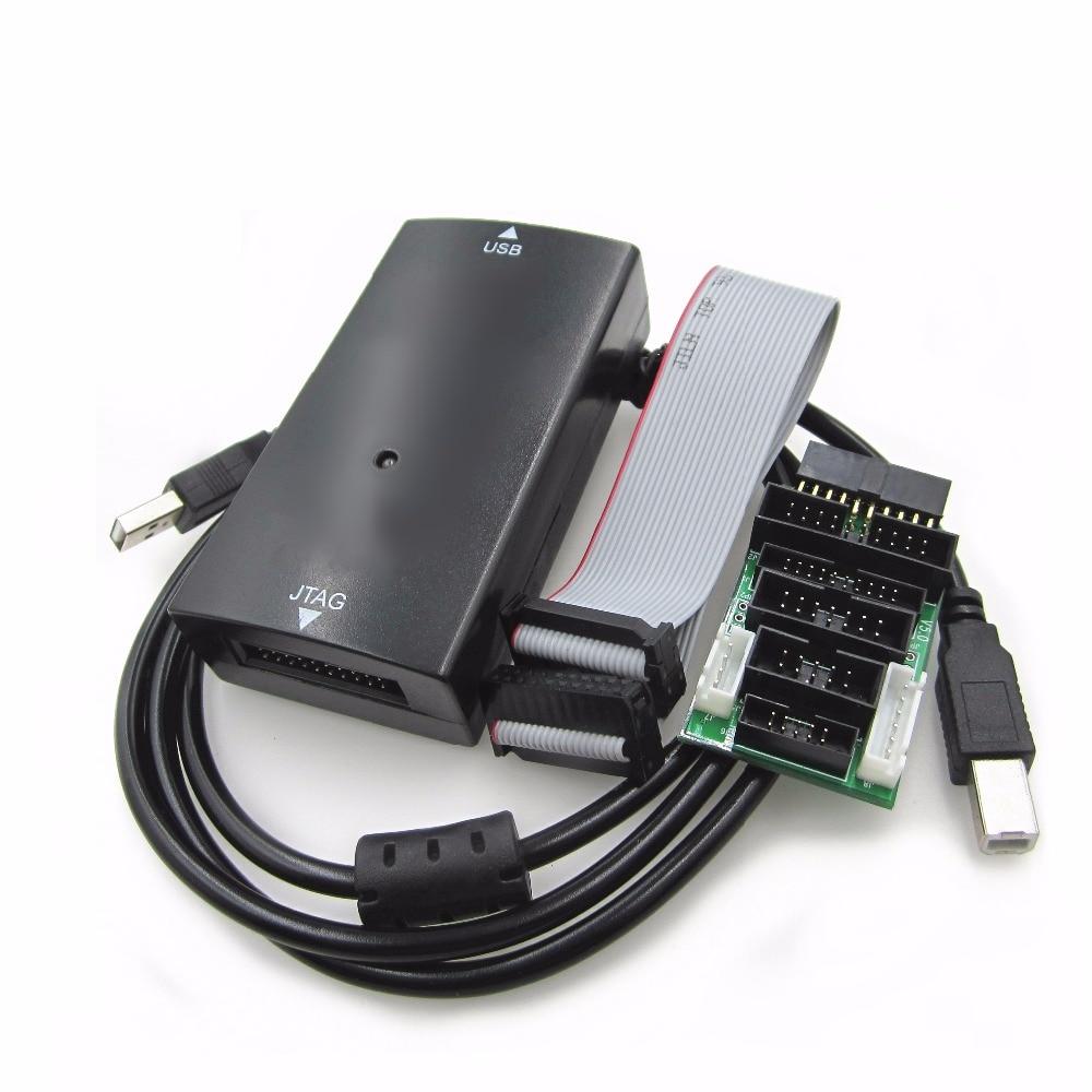 Эмулятор для отладки ссылки V9 комплект эмулятора с платой преобразования USB-кабелем AMR эмулятор с поддержкой JTAG/Cortex/STM32 черный