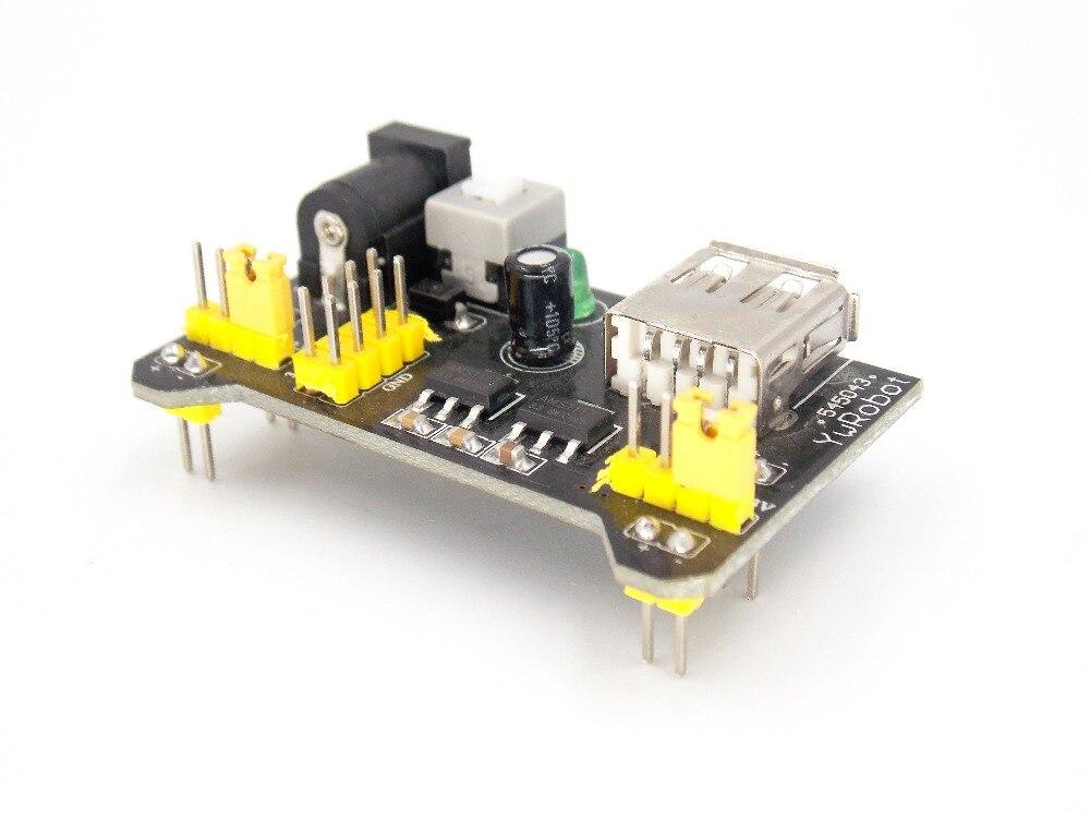 Smart Electronics MB102 MB-102 sin soldadura de placa de módulo de fuente de alimentación 3,3 V 5V placa Diy Kit de iniciación
