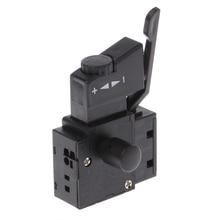 Perceuse électrique commande de vitesse   Outil électrique de verrouillage sur loutil électrique, interrupteur de bouton de déclenchement