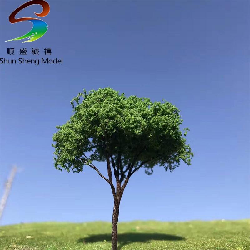 2-10PCS/SETS Dark Green Color Wire Tree For Model Desgin High 6CM--16CM