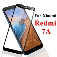 Tempered Glass For Xiaomi Redmi 7A Screen Protector Ksiomi 7 A Protective Xiomi A7 Redme Full Cover Armor Redmi7a Red Mi Xaomi