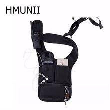 HMUNII, nueva actualización, bolsa de almacenamiento militar, bolsa de hombro oculta portátil para axilas, paquete de tableta, caja de tarjeta, agente, bolsa de hombro