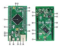 Placa stm32 placa de núcleo stm32f407igt6 mcu, com ios, usb, ethernet, nandflash Cortex-M4 stm32 placa de desenvolvimento = xcore407i