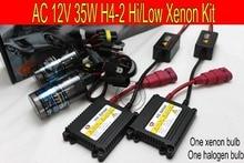 BALLAST SLIM H4 12V/35W AC   KIT Hi/Low, xénon + halogène, kit pour phare de voiture, 4300K/6000K/8000K/10000K, livraison gratuite