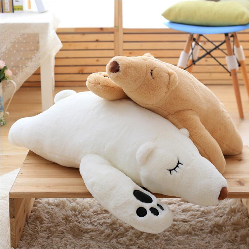 Nuevo oso de peluche creativo, oso de peluche, oso Polar, animal relleno, juguete suave, regalo de cumpleaños para niños