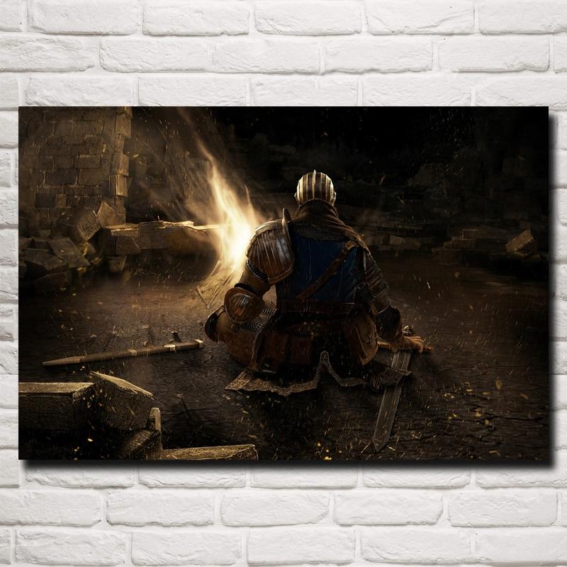 Художественный постер из шелковой ткани, для домашнего декора стен, 12x18 16X24 20x30 24x36 дюймов