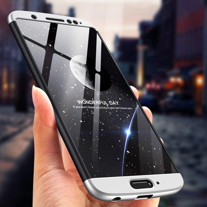 Ojeleye funda completa de 360 grados para Motorola Moto G5S Plus funda XT1803 XT1805 cubierta trasera de plástico antigolpes para Moto G6 1S Shell