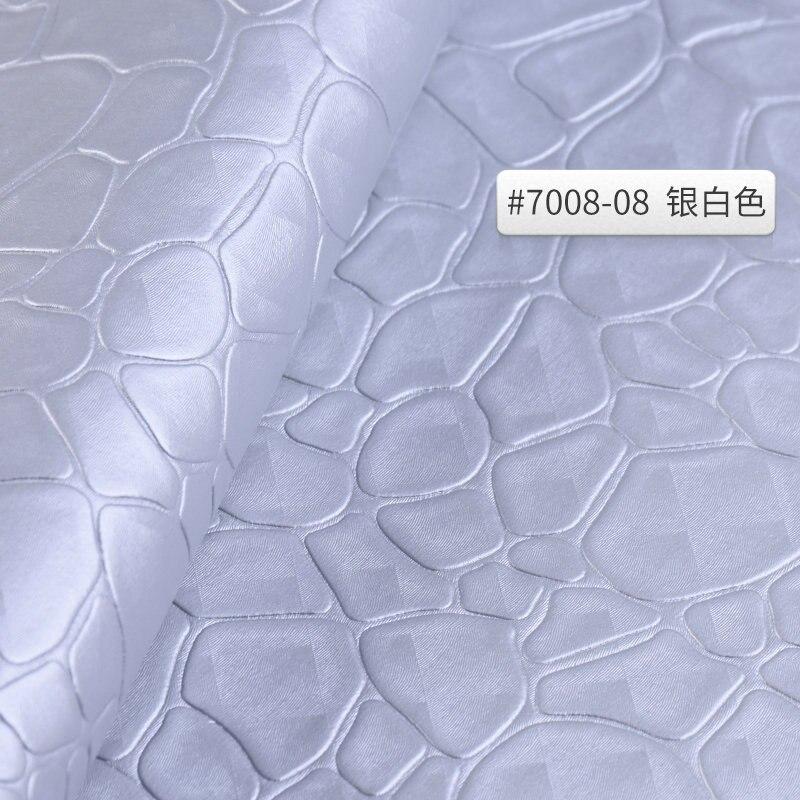 1 metro de piedra patrón de tela de cuero para sofá paño...