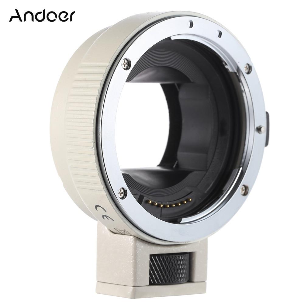 Кольцо-адаптер для объектива Andoer с автофокусом AF EF-NEXII, для объектива Canon EF EF-S, для Sony NEX E, с полной рамкой, A7/A7R