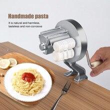 El yapımı spagetti makarnacı kesici alüminyum alaşım Fettuccine erişte basın makinesi