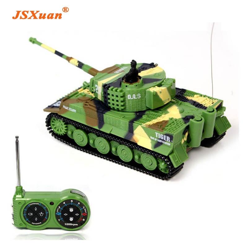Jsxuan Simulatie Duitse Rc Tiger Tank 14 Ch 172 Afstandsbediening Gesimuleerde Panzer Mini Tanks Voor Kind Speelgoed Kids Gift